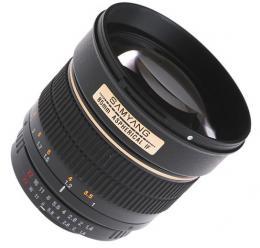 Samyang 85mm f/1.4
