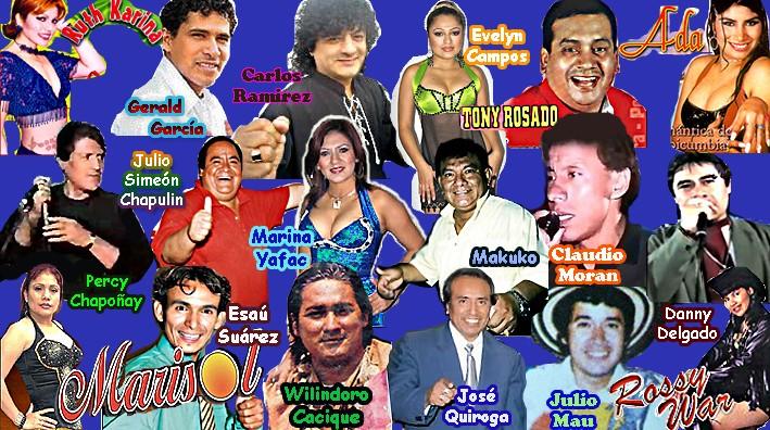 Cumbia Peruana Grandes Cantantes