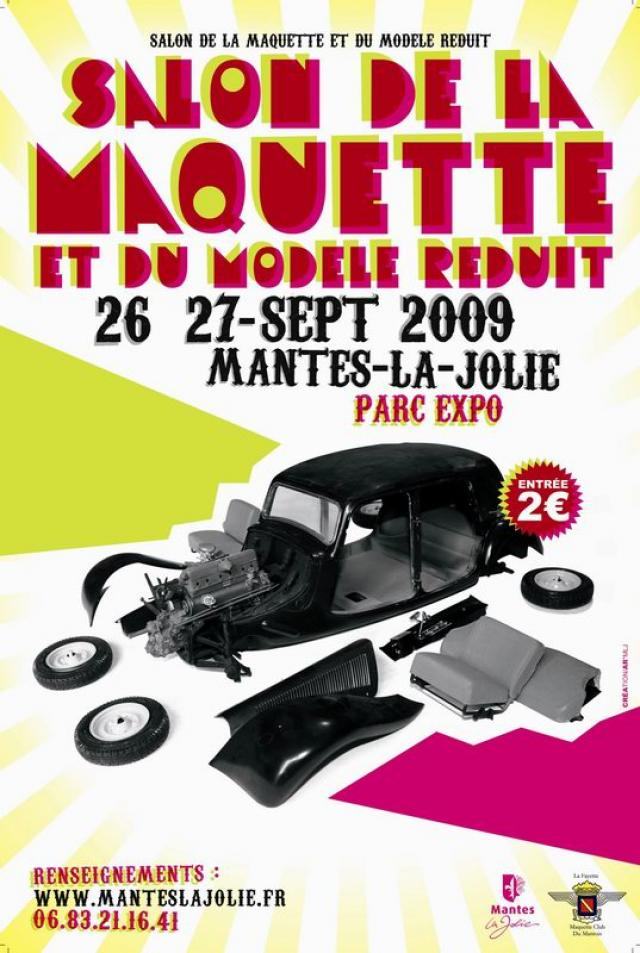 Pour info salon du mod lisme mantes la jolie 26 et 27 sept for Salon mantes la jolie