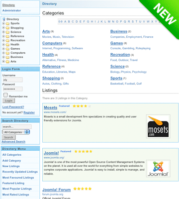 Mosets Tree Joomla! Directory Component