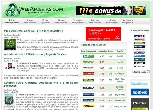 Apuesta por la Diversidad en Webapuestas.Com