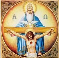 Fête de la Sainte Trinité – 16 juin 2019 - (Image et Musique)- Tableau Poétique des Fêtes Chrétienne – Vicomte Walsh 19  Trinite1-5a6950