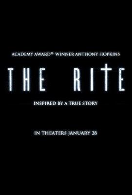 Poster de The Rite
